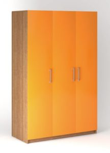 Шкаф распашной 3х дверный ВАР 1