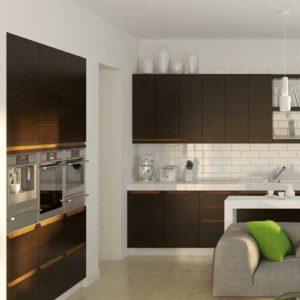 кухня модерн алессандрия венге 2