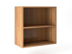 Шкаф навесной открытый с горизонтом