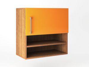 Шкаф навесной 1 дверь распашная + ниша вертикально