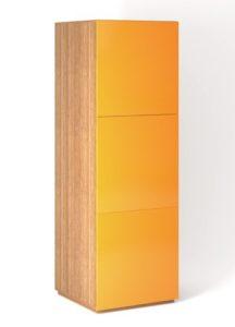 Шкаф напольный 3 двери распашные вертикально с Tip-On