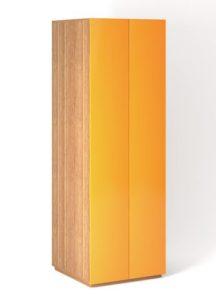 Шкаф напольный 2 двери распашные горизонтально с Tip-On