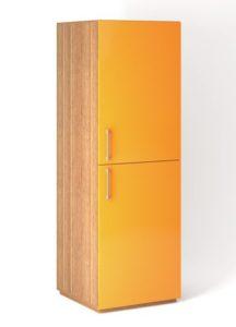 Шкаф напольный 2 двери распашные вертикально
