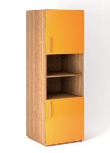 Шкаф напольный 2 двери распашные + ниша