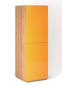 Шкаф напольный 2 двери распашные вертикально с Tip-On