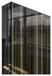 карамель черная глянец 21х1 + зебрано с перл. DT0040