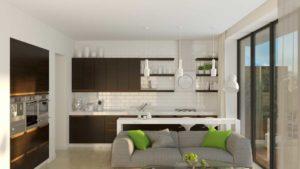 кухня модерн глория алессандрия венге