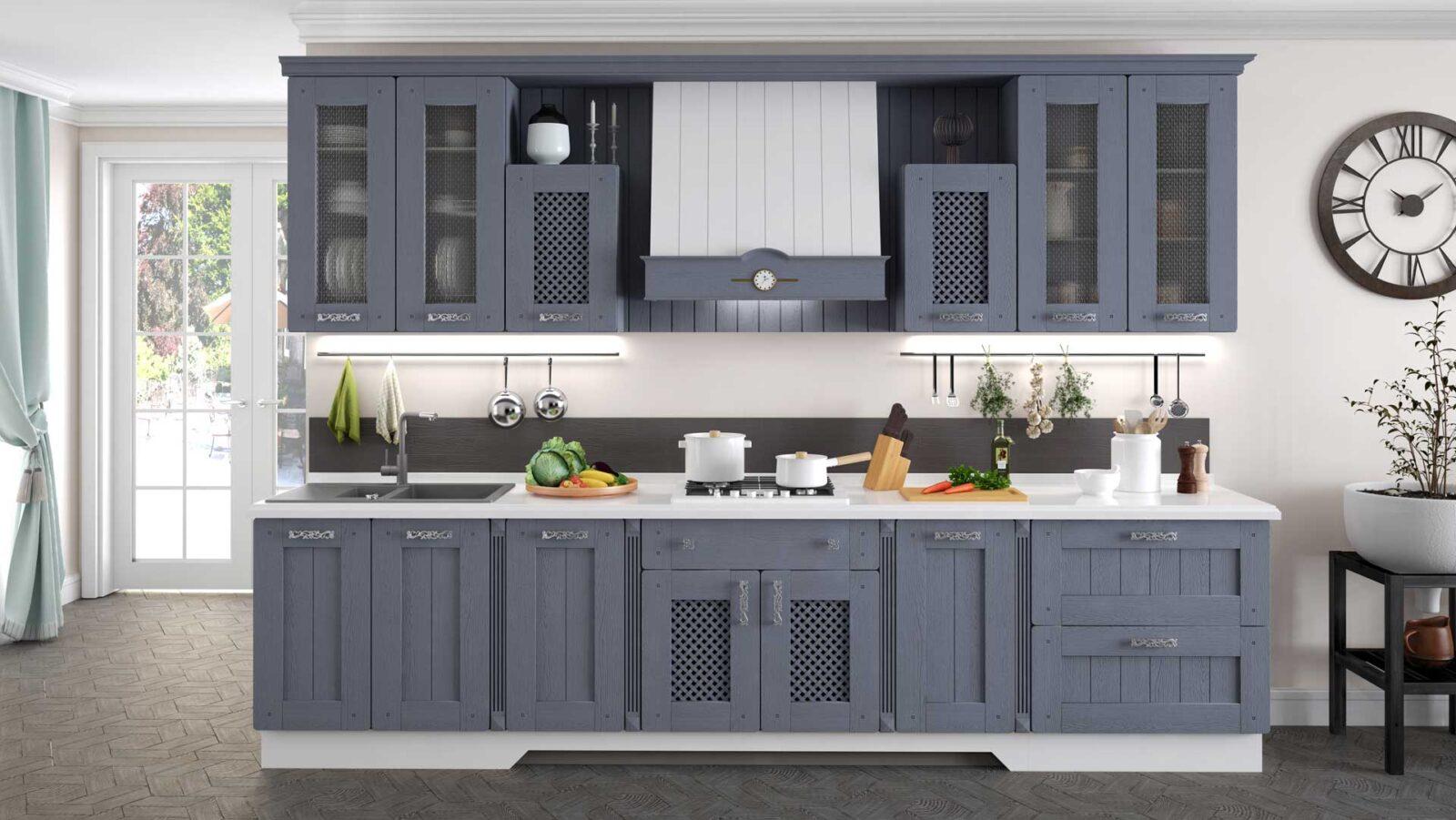 кухня жаклин азалия серый 2