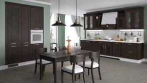 кухня жаклин азалия венге 2