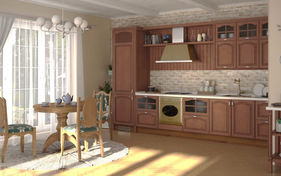 Кухни: функциональность во главе стола.