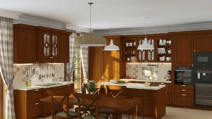 кухня валенсия флоренция чёрри патина 2